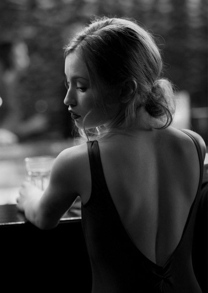 Espalda mujer