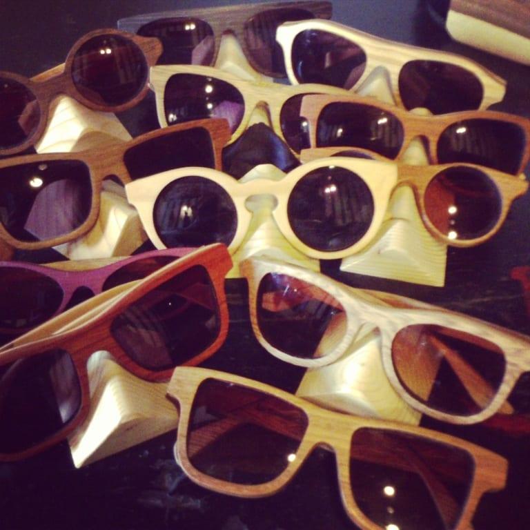 3e7ca8be4a La madera hoy más cool que nunca >>>> Gafas!!!