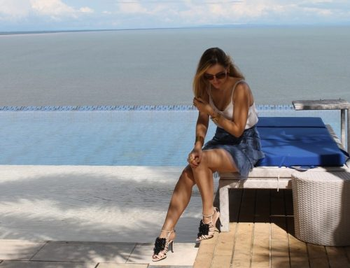 Nel blu, dipinto di blu… hoy en azul Panamá > Outfit post