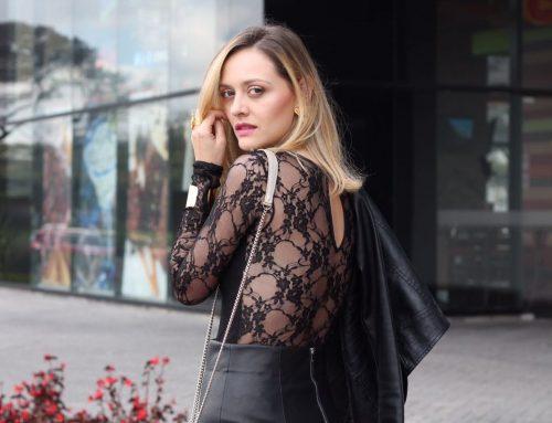 Un exceso de negro, quizá no sea un exceso! Outfit post