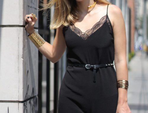 Un nuevo básico > Del LBD al enterizo negro! Outfit post