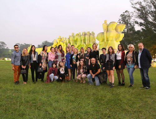 Un viaje relámpago a Brasil con Carmen Steffens